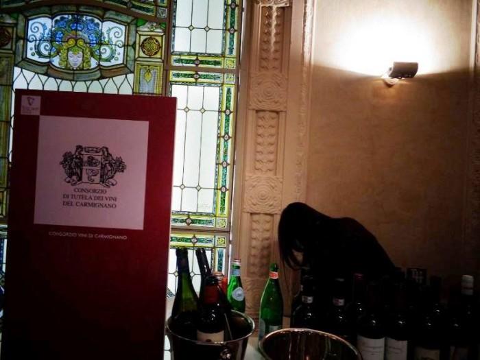 Anteprime Toscane, la postazione del Consorzio di Tutela dei Vini del Carmignano