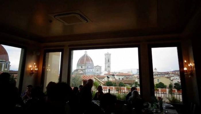 Anteprime Toscane, una vista di Firenze dalla sala
