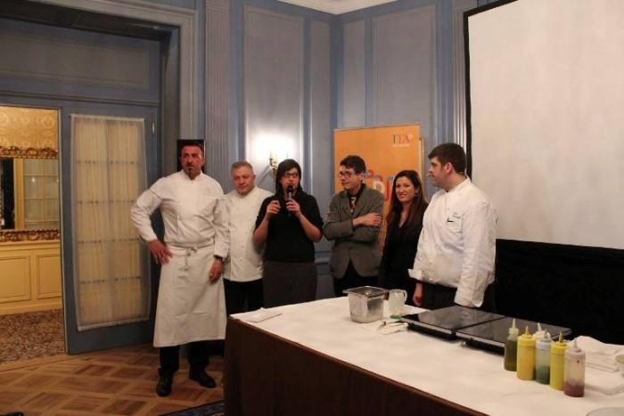 Barbara Guerra e Luigi Cremona con i protagonisti de LSDM 2015 a Ginevra