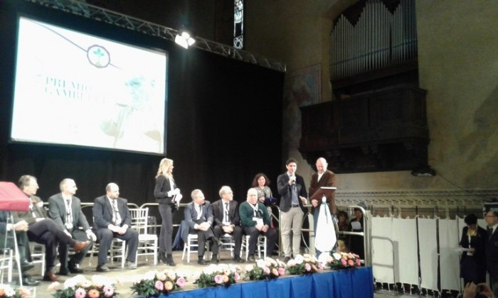 Cerimonia di premiazione durante Benvenuto Brunello