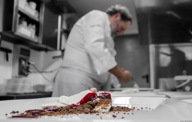 La Chaumiere, il dessert: Blood