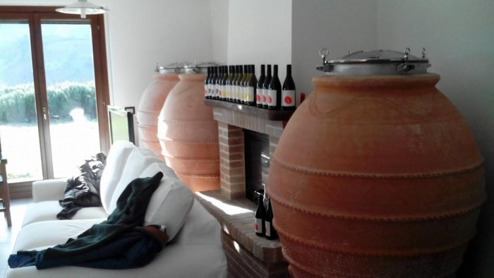 Cirelli, i vini e le anfore