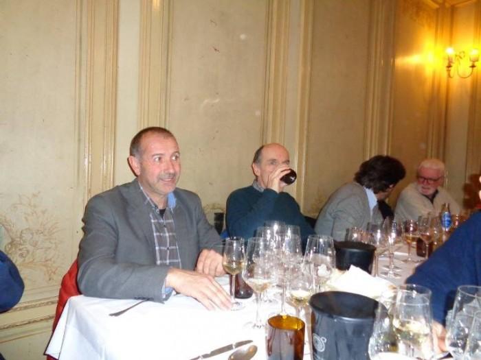 Claudio Fenocchio alla cena di Burde
