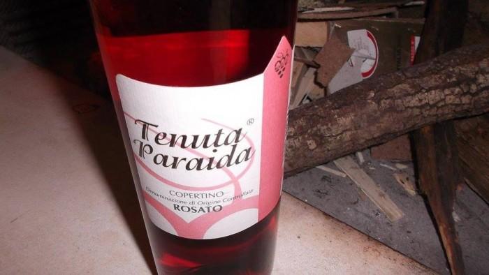 Copertino Rosato Doc 2013 Tenuta Paraida Vitivinicola Marulli