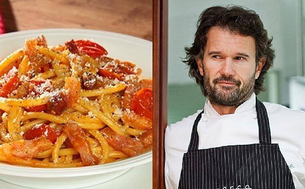 L'amatriciana e Cracco