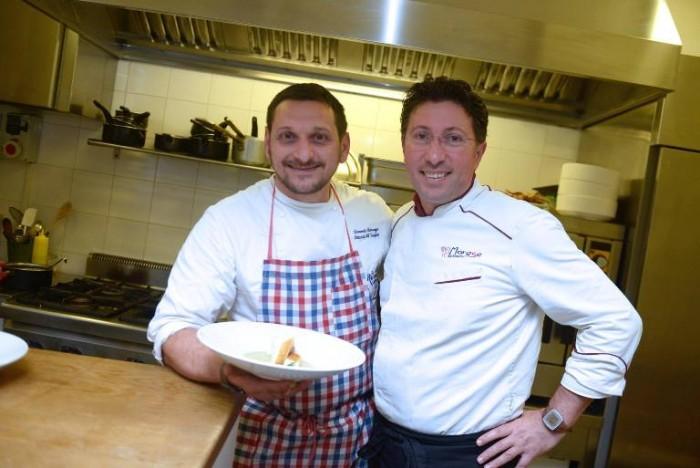 Domenico Vicinanza e Gaetano Morese