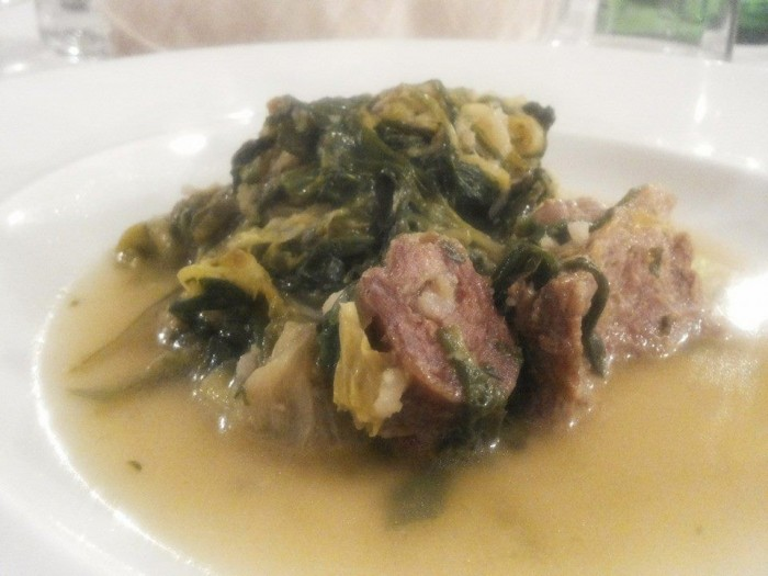 Fenesta Verde, minestra maritata