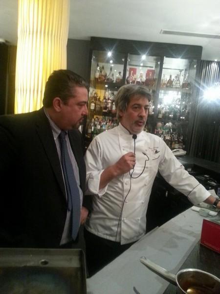 Giorgio Scarselli con Giuseppe Di Martino