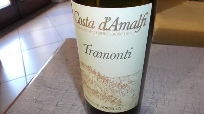 Costa d'Amalfi Tramonti Bianco Doc Giuseppe Apicella