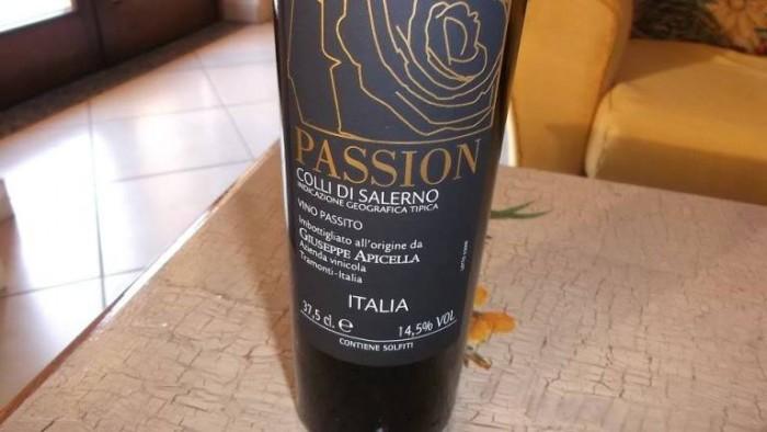 Passion Vino Passito Colli di Salerno Igt Giuseppe Apicella
