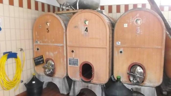 Giuseppe Apicella, contenitori per il vino