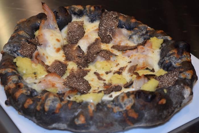 La pizza di Angelo Rumolo realizzata in collaborazione con Vitantonio Lombardo