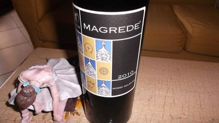 Magredé Rosso Salento Igp 2010 Dei Agre