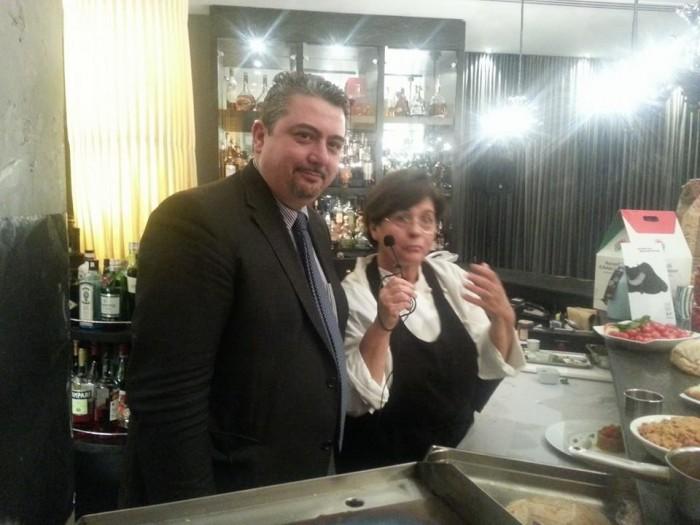Maria Rina con Giuseppe Di Martino