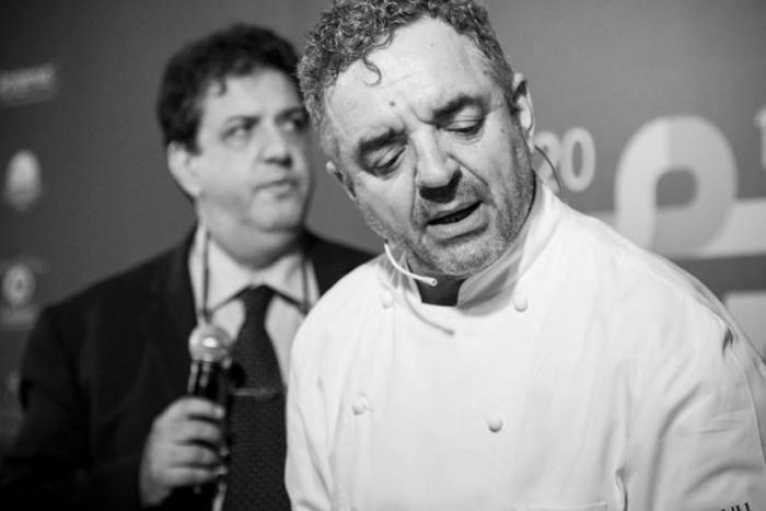 Mauro Uliassi e Luciano Pignataro, foto dell'edizione 2014