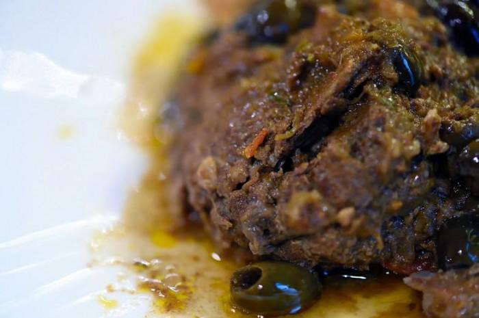Osteria La Saletta, il cinghiale alla maremmana