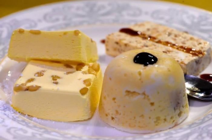 Osteria La Saletta, tris di semifreddi