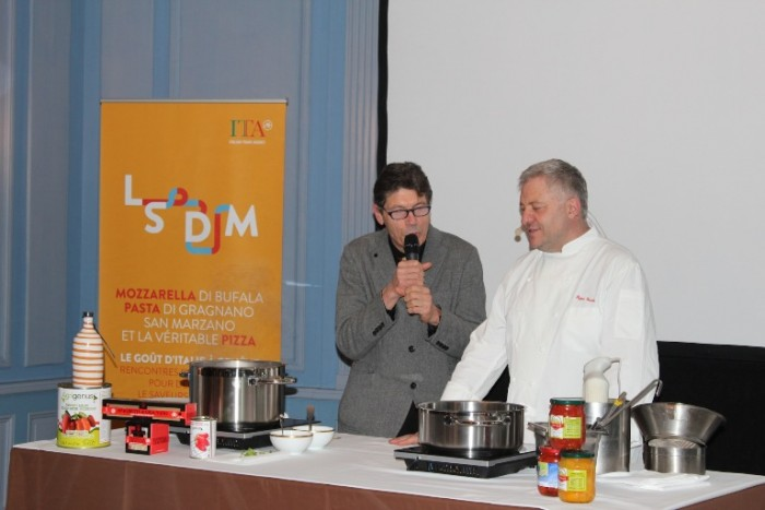 Peppe Guida con Luigi Cremona