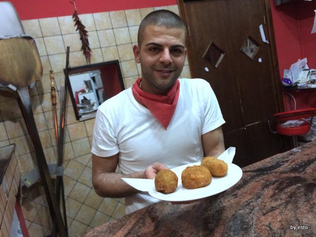 Pizzeria Pulcinella, Ciro Casale i fritti