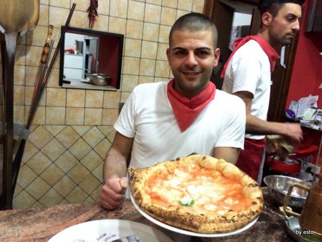 Pizzeria Pulcinella, Ciro Casale la Margherita