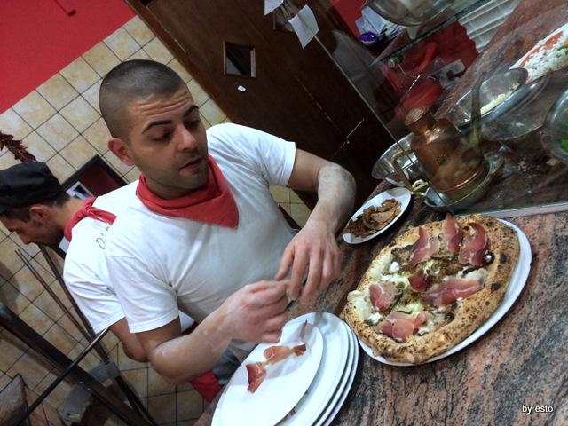 Pizzeria Pulcinella, Ciro Casale la passione