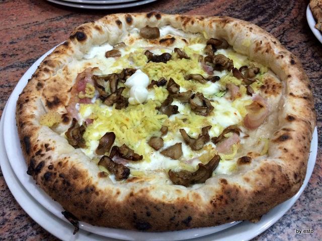 Pizzeria Pulcinella, Ciro Casale pizza Patanella