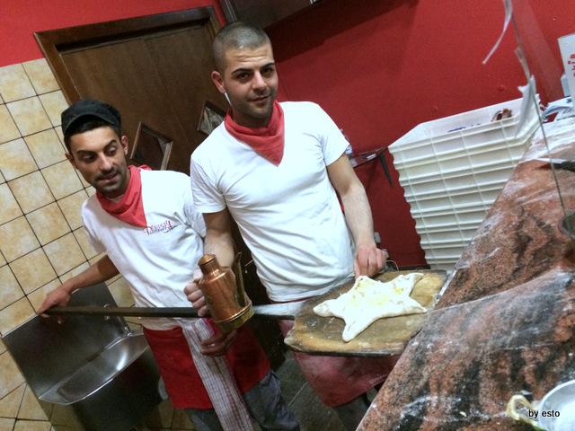 Pizzeria Pulcinella, Ciro Casale la sua Stella