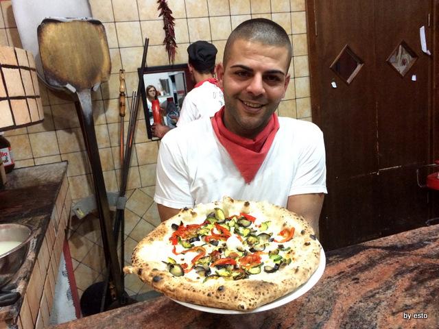 Pizzeria Pulcinella, Ciro Casale l'ortolana