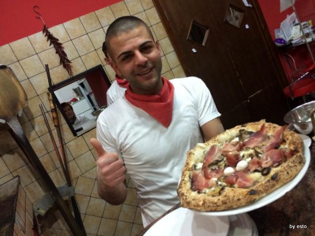 Pizzeria Pulcinella, Ciro Casale speck e porcini
