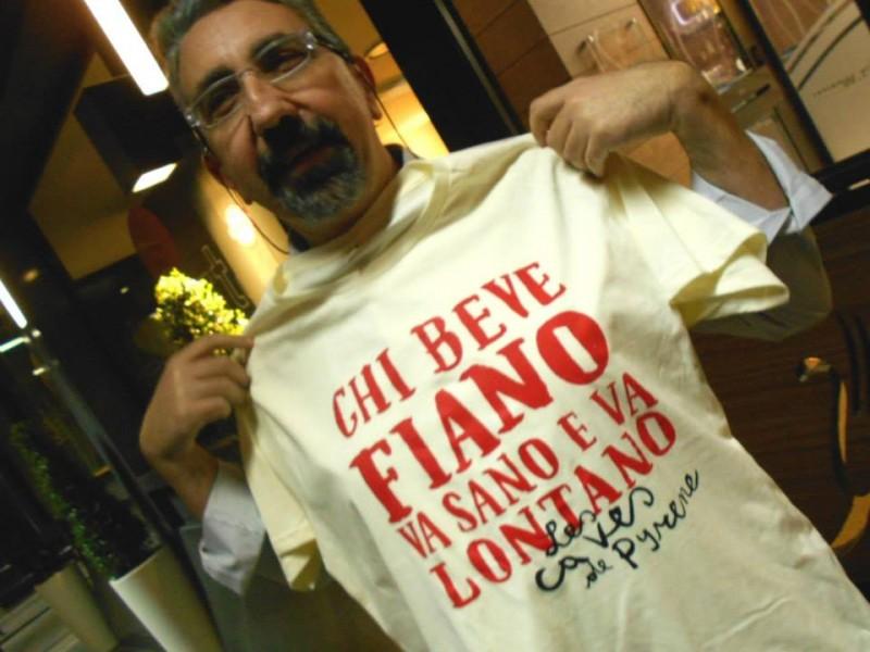 Sabino Berardino testimonial del Fiano di Avellino
