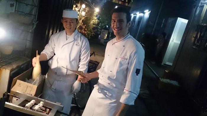 Salvatore Giugliano in Giappone