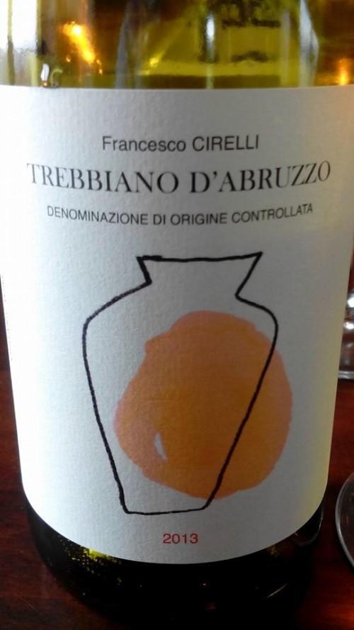 Trebbiano D'Abruzzo 2013 Cirelli