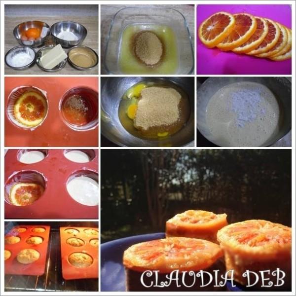 Tutorial tortine rovesciate all'arancia