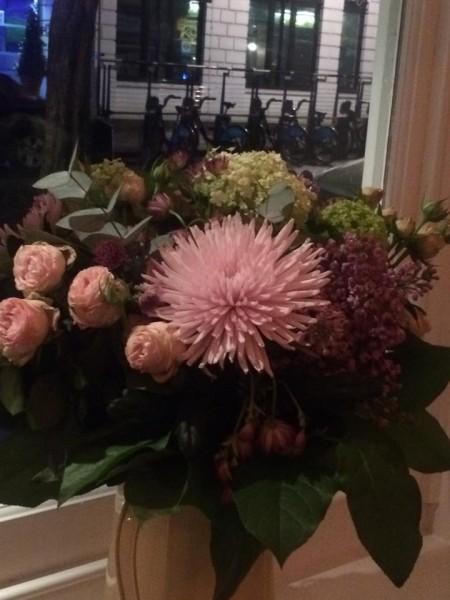 Bnnie Gull, i fiori freschi