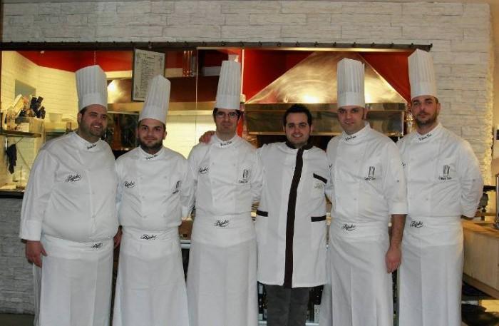 da sinistra: Gioacchino Vorraro, Ciro Catapano, Vincenzo Liberti, Luciano Bifulco, Carmine Di Donna, Dario De Gaetano