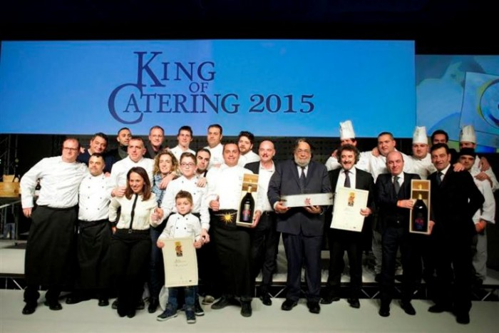 i vincitori di King of Catering 2015