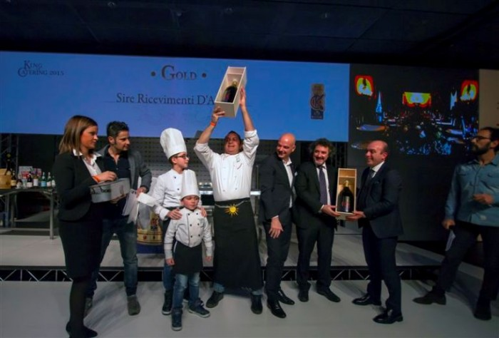 il vincitore del King of Catering Gold