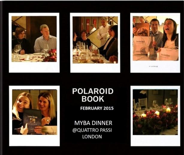 la cena a I 4 Passi a Londra