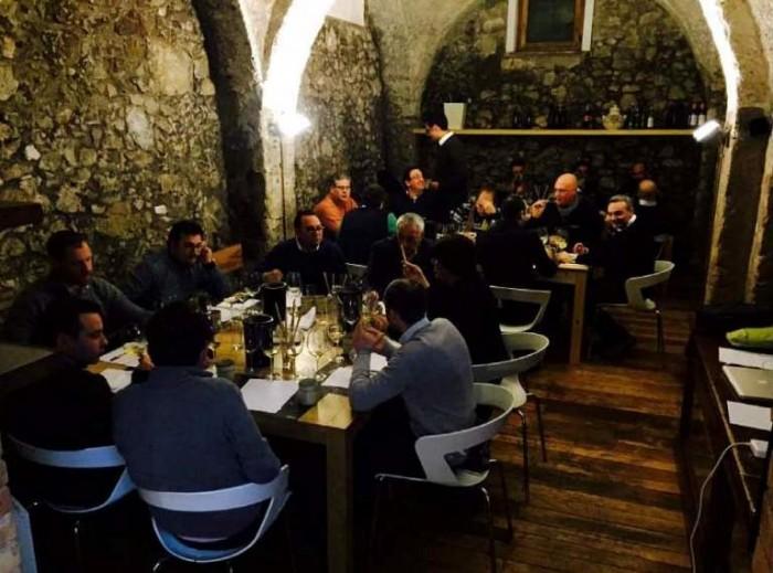la degustazione di Chardonnay di Assoenologi Campania