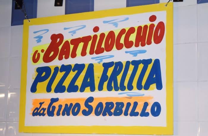 la pizza fritta da Gino Sorbillo
