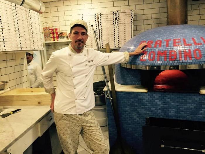 Pizzeria Fratelli Zombino, Salvatore De Angelis