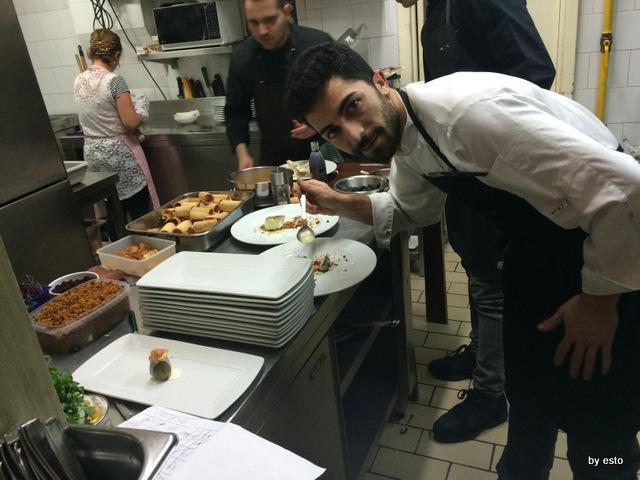 Taverna Scacciaventi Angelo Borghese in cucina