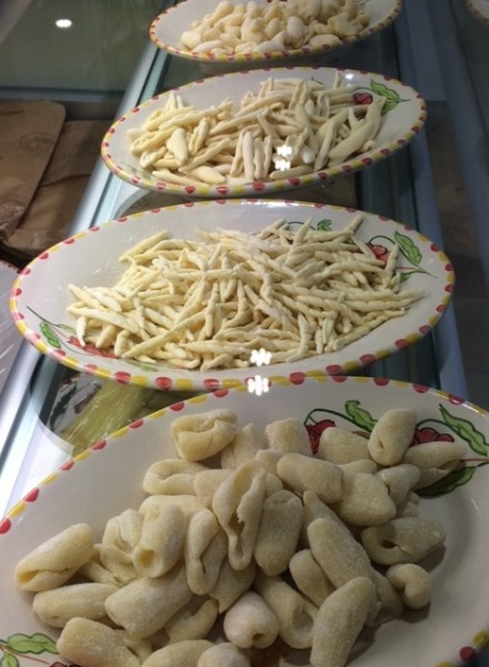 La Pastaia Verace, il banco con la pasta fresca