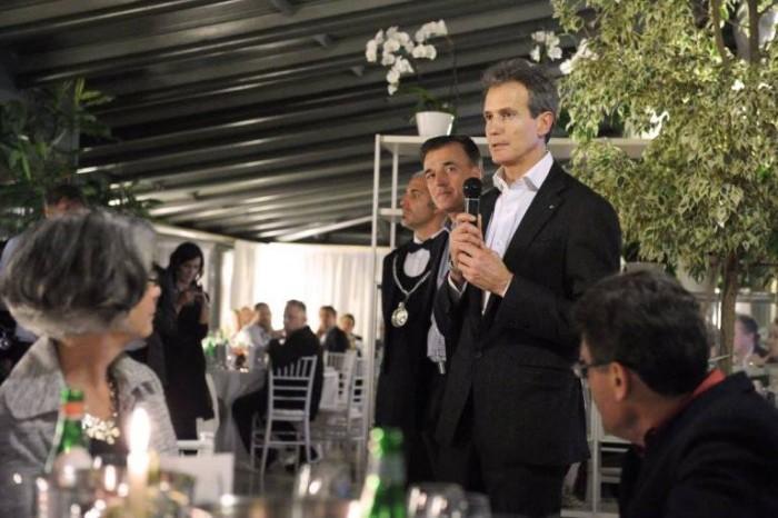 Alessandro Benetton e Valentino Sciotti