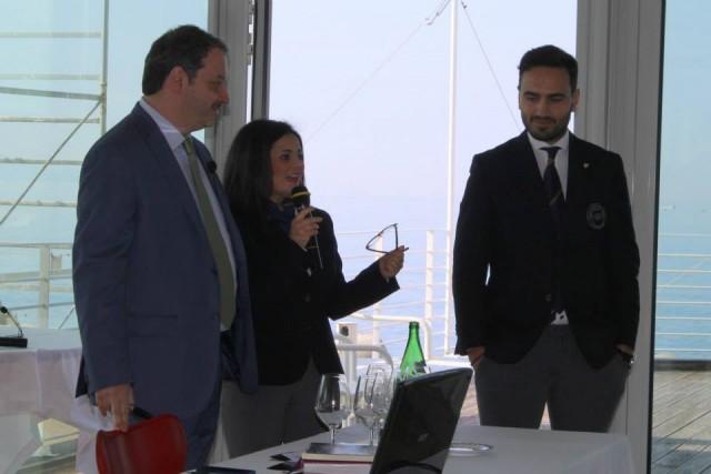 Armando Castagno, Nicoletta Gargiulo e Emanuele Izzo (Foto Iolanda Maria Irene Minasola)