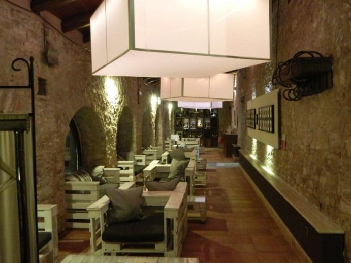Boda de Ciondro, il salottino per after dinner