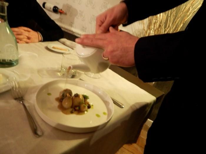 Boda de Ciondro, servizio del burro fuso, al tartufo