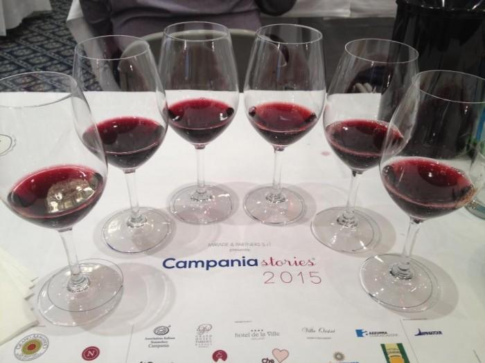 Campania Stories 2015, la degustazione dei rossi