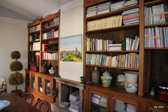 Casa Lerario agriturismo tra charme e natura la biblioteca