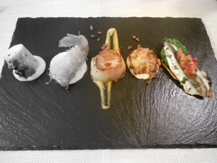 Celide, cinque degustazioni di pesce